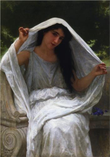 The Veil - William Adolphe Bouguereau