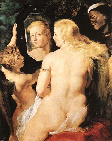 Venus at a Mirror - Peter Paul Rubens