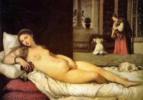 Tiziano Titian Vecellio - Venus of Urbino