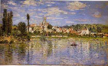 Vetheuil in Summer - Claude Monet