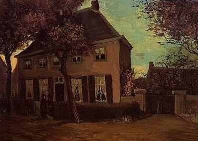 Vicarage at Nuenen - Vincent van Gogh