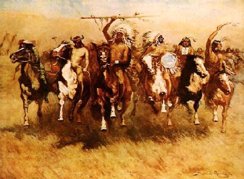 Victory Dance - Frederic Remington