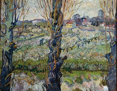 View of Arles - Vincent Van Gogh