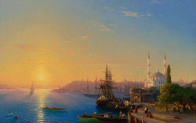View of Constantinople - Ivan Aivazovsky