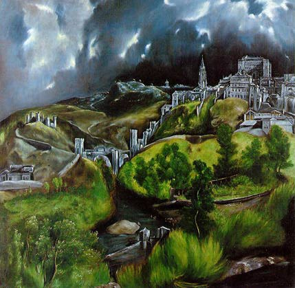 View of Toledo - El Greco