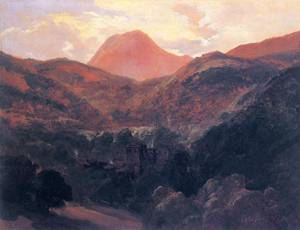View of the Puy de Dome and Royat - Theodore Rousseau