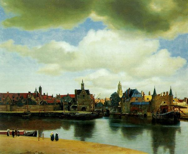 View on Delft - Jan Vermeer van Delft