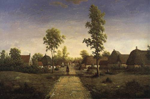 Village of Becquigy - Theodore Rousseau