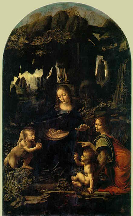 Virgin of the Rocks - Leonardo da Vinci
