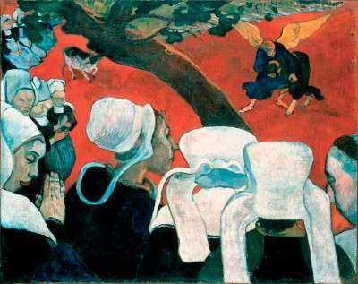 Vision After the Sermon - Paul Gauguin
