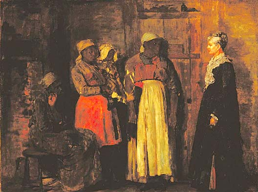 Visit from the Old Mistress - Winslow Homer