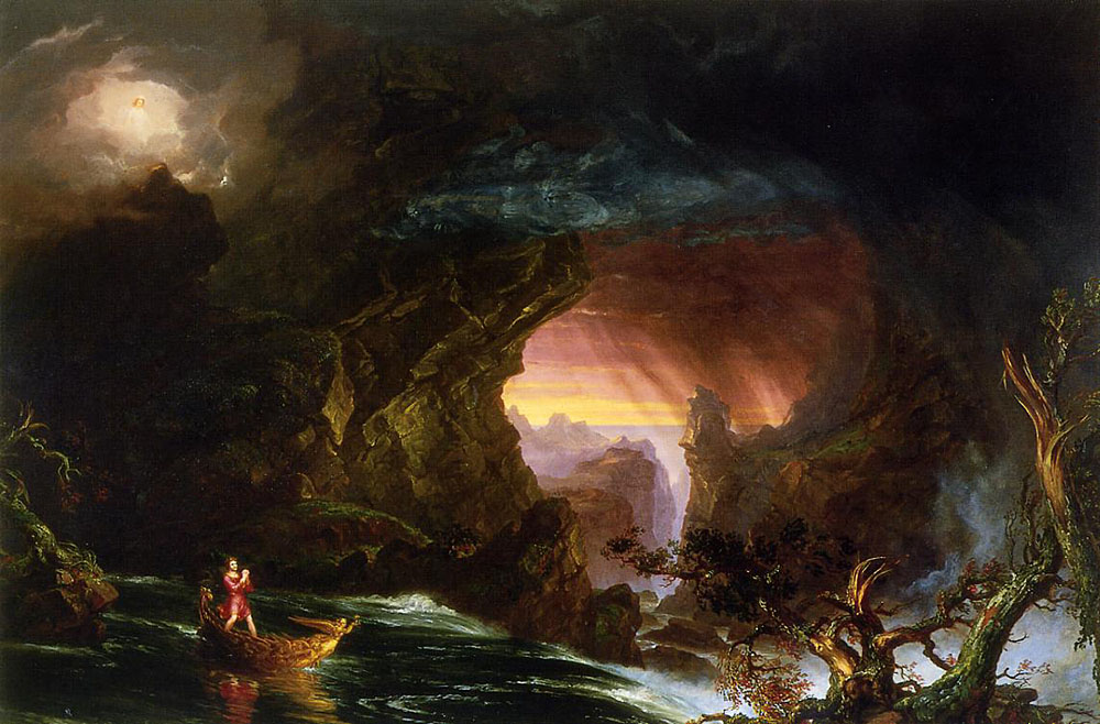 Voyage of Life: Manhood - Thomas Cole