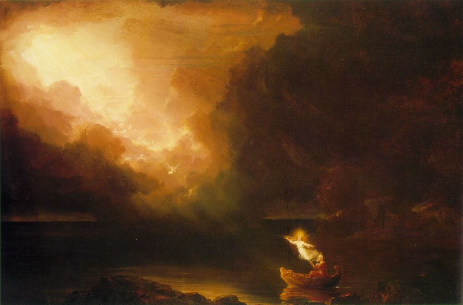 Voyage of Life: Old Age - Thomas Cole