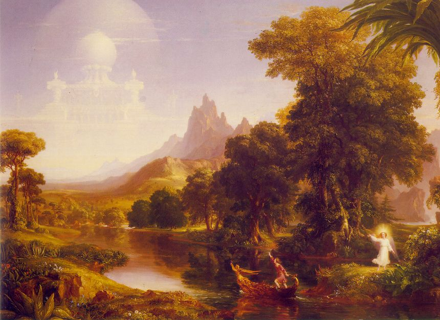Voyage of Life: Youth - Thomas Cole