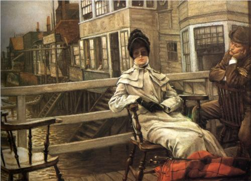 Waiting for the Ferry - James Tissot