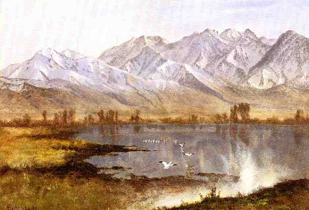 Wasatch Mountains, Utah - Albert Bierstadt