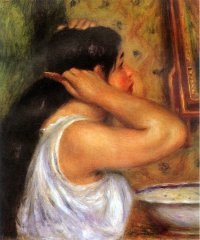 Wash and Dress - Pierre Auguste Renoir