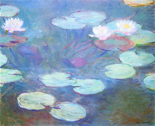 Water Lilies 1897-1899 - Claude Monet
