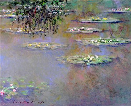 Water Lilies 1903 - Claude Monet
