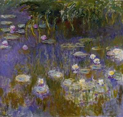 Water Lilies 1914-1917 - Claude Monet