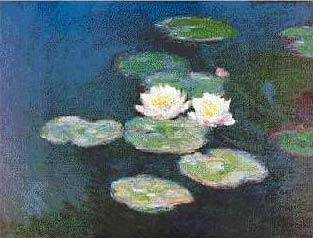 Water Lilies with Night Effects - Claude Monet