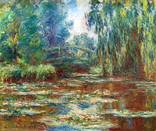 Water Lily Pond and Bridge 1905 - Claude Monet