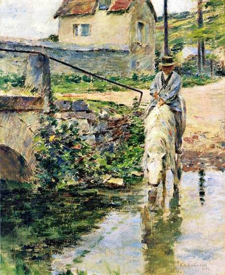 Watering Place - Theodore Robinson