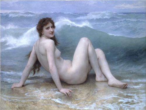 Wave - William Adolphe Bouguereau