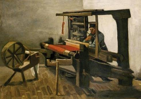 The Weaver - Vincent van Gogh