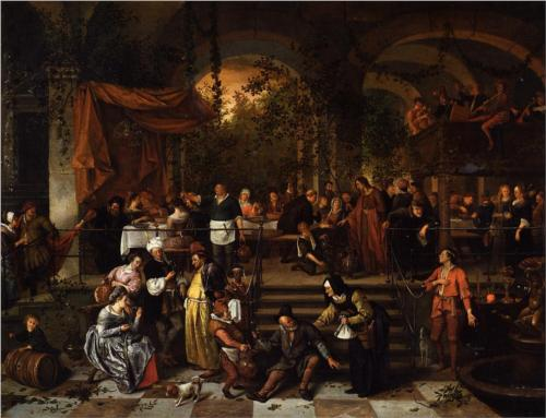 Wedding Feast at Cana - Jan Steen