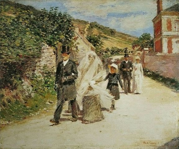 The 20 Year Wedding March: Theodore Robinson Painting Reproductions For Sale