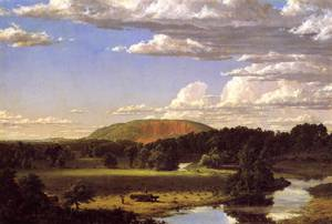 West Rock New Haven - Frederic Edwin Church