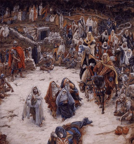 What Our Savior Saw from the Cross - James Tissot