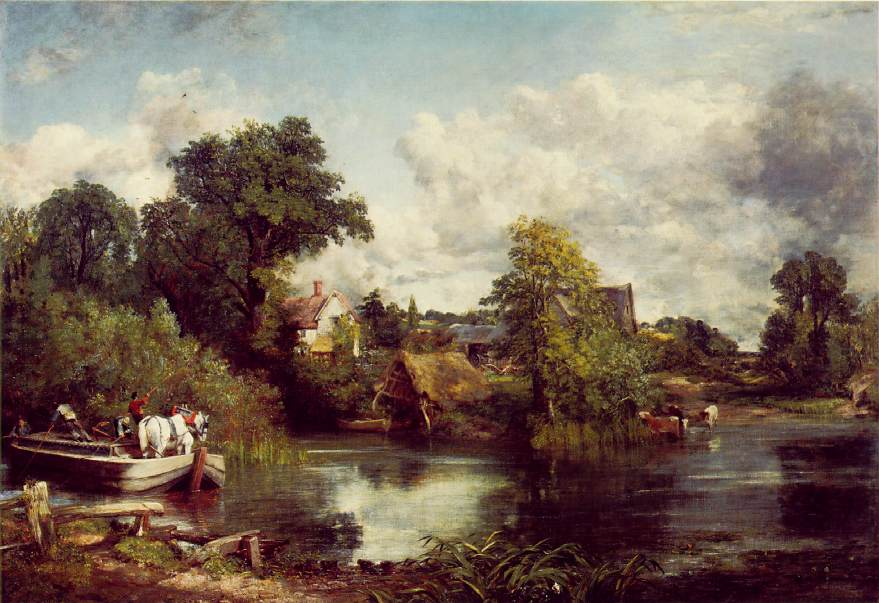 The White Horse - John Constable