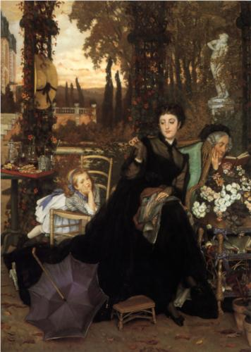 Widow - James Tissot