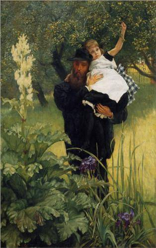 Widower - James Tissot