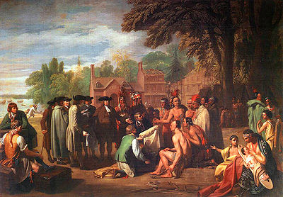 William Penn's Treaty with the Indians - Benjamin West