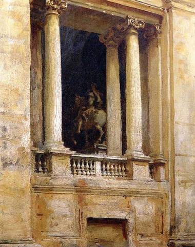 Window in the Vatican - John Singer Sargent
