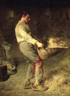 Winnower - Jean Francois Millet