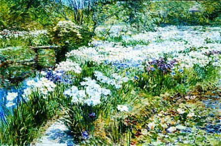 Winter Garden - Childe Hassam