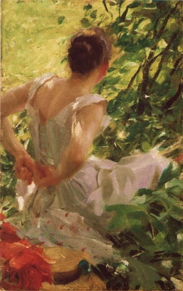 Woman Dressing - Anders Zorn