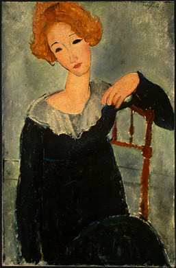 Woman with Red Hair - Amedeo Modigliani