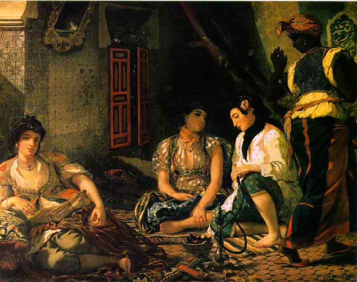 Women of Algiers - Eugene Delacroix
