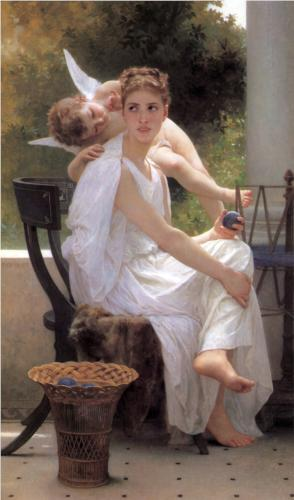 Work Interrupted - William Adolphe Bouguereau
