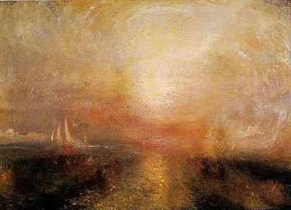 Yacht Approaching the Coast - Joseph Mallord William Turner