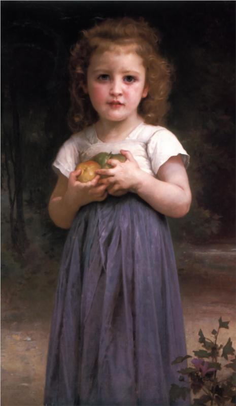 Young Child - William Adolphe Bouguereau