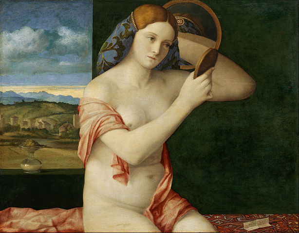 Young Woman at Her Toilet 1515 - Giovanni Bellini