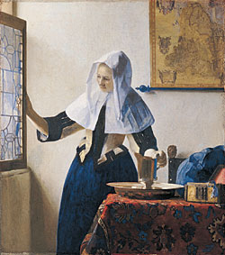 Young Woman with Water Picture - Jan Vermeer van Delft