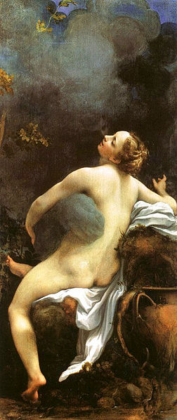 Zeus and Io 1530-1531 Correggio